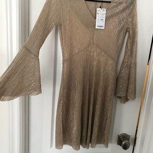 Mango sparkly dress